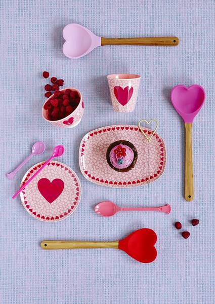 Bilde av SLIKKEPOTT - Pink / Rød - Rice