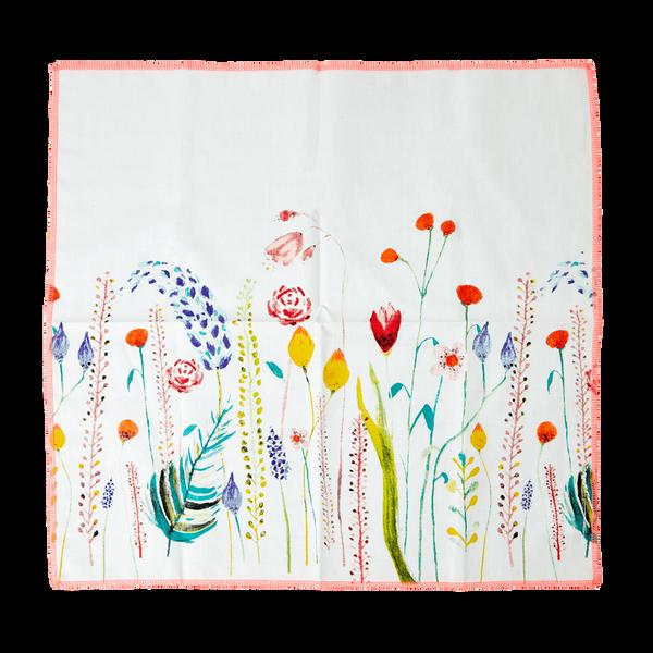 Bilde av 2 STOFFSERVIETTER - Summer Flowers Print - Rice