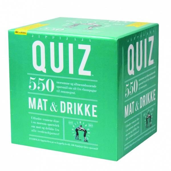 Bilde av Spill - Quiz - Jippijaja Mat & Drikke