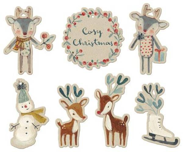 Bilde av TAGS - Cosy Christmas - Maileg