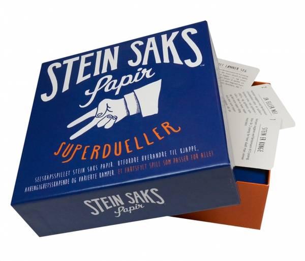 Bilde av SPILL - Stein, Saks, Papir