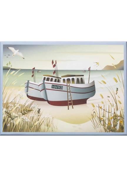 Bilde av PUSLESPILL MED 1000 BRIKKER - Fishing Boats - Vissevasse