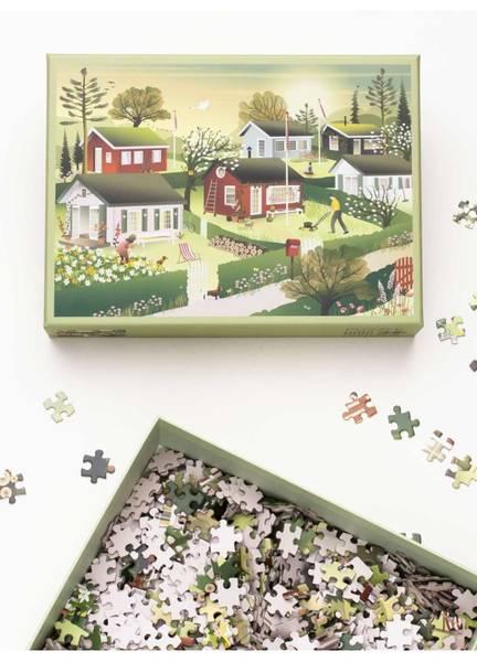 Bilde av PUSLESPILL MED 1000 BRIKKER - Small House - Vissevasse