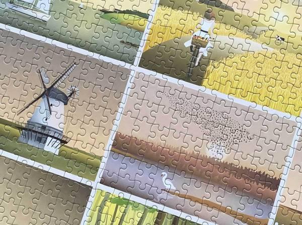 Bilde av PUSLESPILL MED 1000 BRIKKER - Øyeblikk - Vissevasse