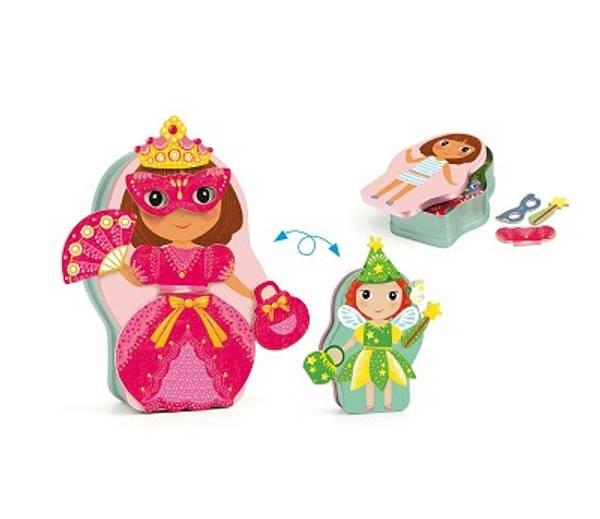 Bilde av MAGNETSPILL - Prinsesse og Fe - Djeco