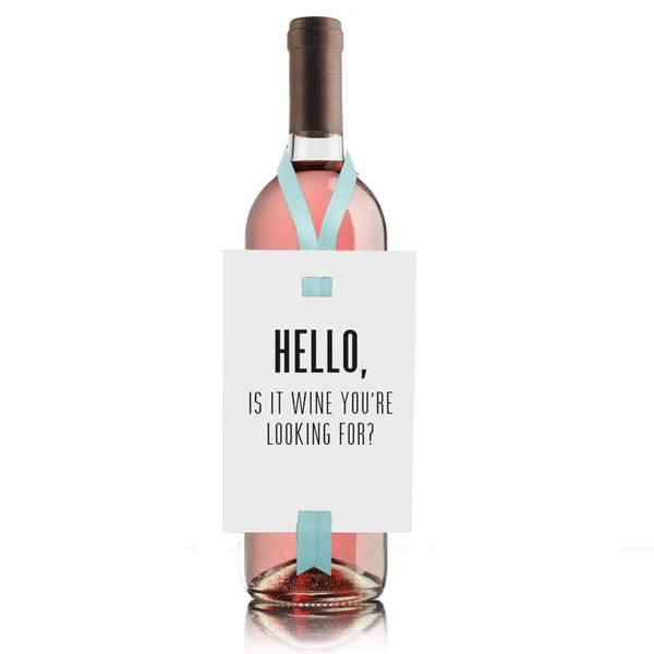 Bilde av VINKORT - Hello, Is It Wine