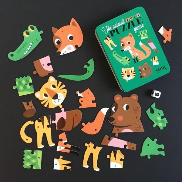 Bilde av PUZZLE GAME - Animal - Ingela Arrhenius