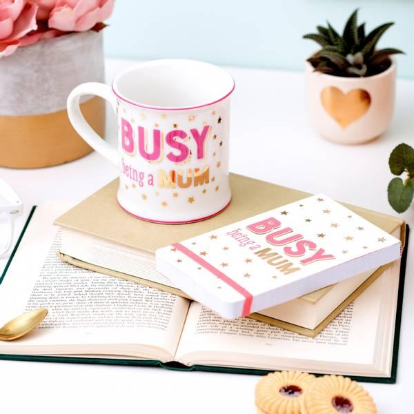 Bilde av SKRIVEBOK - Busy Being A Mum