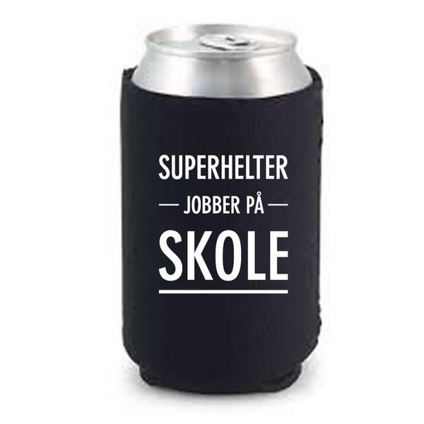 Bilde av BOKSKJØLER - Superhelter Jobber På Skole