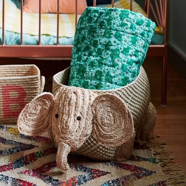 Bilde av KURV - Elefant - Rice