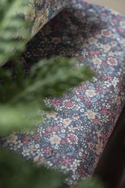 Bilde av TEPPE - Quilt - Lavendel Med Blomster - Ib Laursen