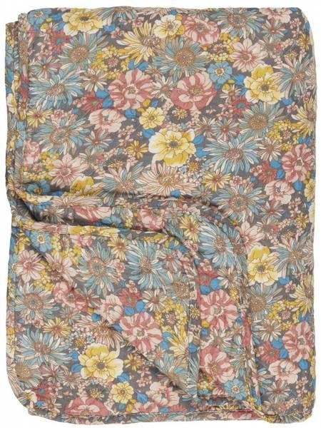 Bilde av TEPPE - Quilt - Med Blomster - Ib Laursen