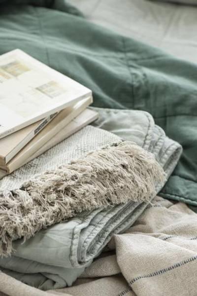 Bilde av TEPPE - Vintage Quilt - Misty Jade - Ib Laursen