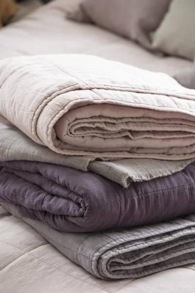 Bilde av TEPPE - Vintage Quilt - Desert Rose - Ib Laursen