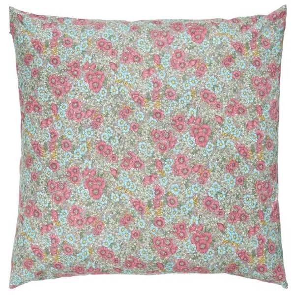 Bilde av PUTETREKK -  Pink og Turkis Blomster - Ib Laursen