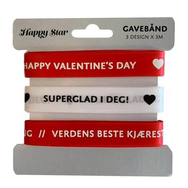 Bilde av GAVEBÅND - Valentine