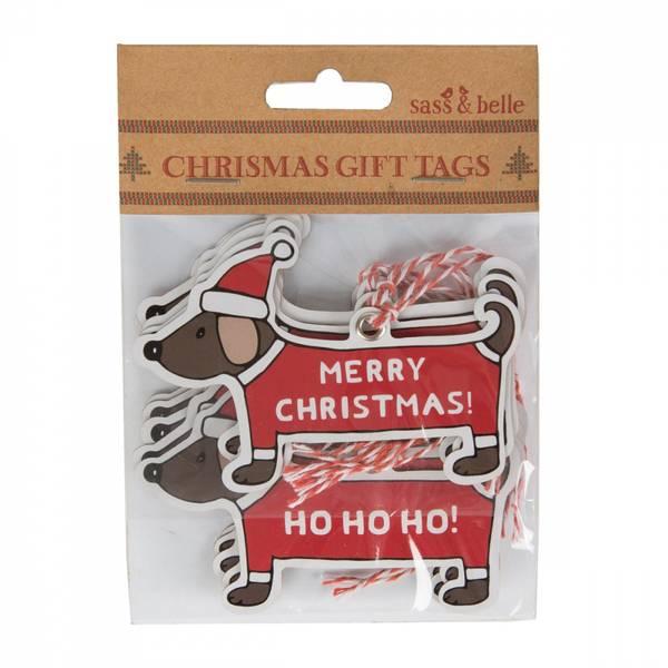Bilde av TAGS - Christmas Dachshund
