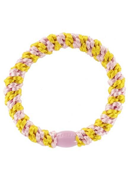 Bilde av HÅRSTRIKK - KKnekki - Yellow-Pink Stripe - Bon Dep
