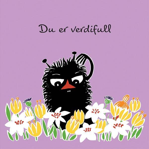 Bilde av MUMMIKORT - Lilla - Du Er Verdifull