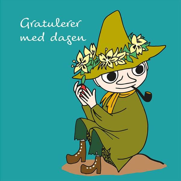 Bilde av MUMMIKORT - Snusmumriken - Gratulerer med Dagen