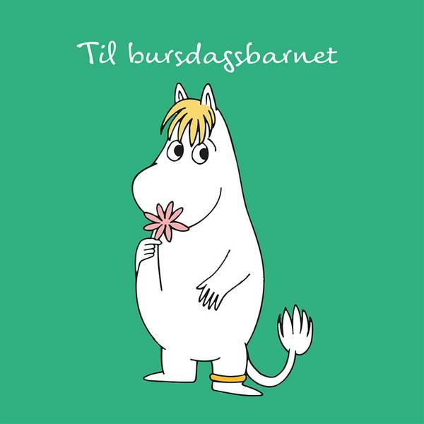Bilde av MUMMIKORT - Grønn - Til Bursdagsbarnet