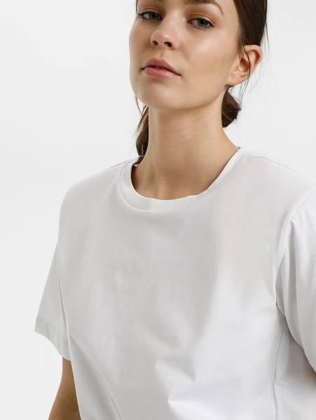 Bilde av Gestuz Jory T-skjorte Hvit