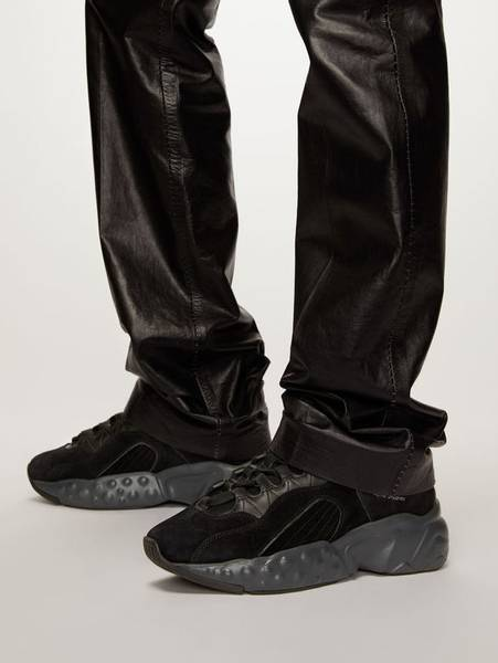 Bilde av Acne Manhattan Sneaker Black