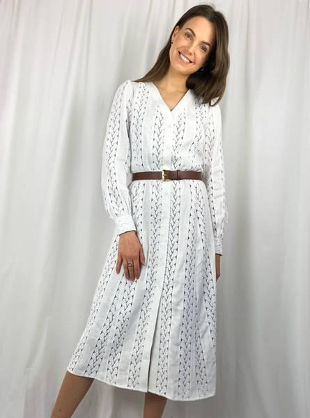 Bilde av Michael Kors Kate Dress White