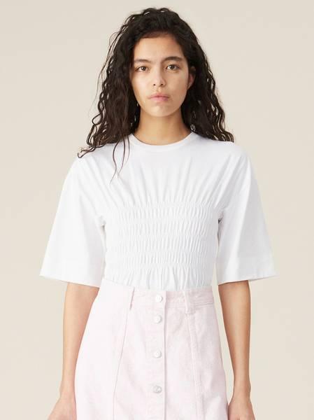 Bilde av Ganni T2587 Basic Cotton