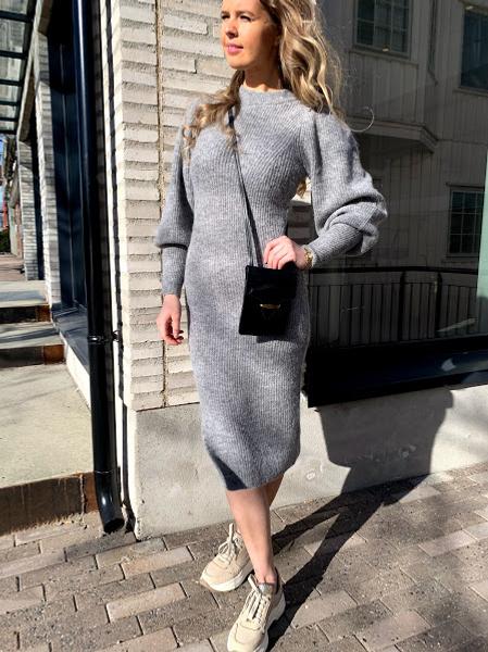 Bilde av Second Female Mika Knit Dress