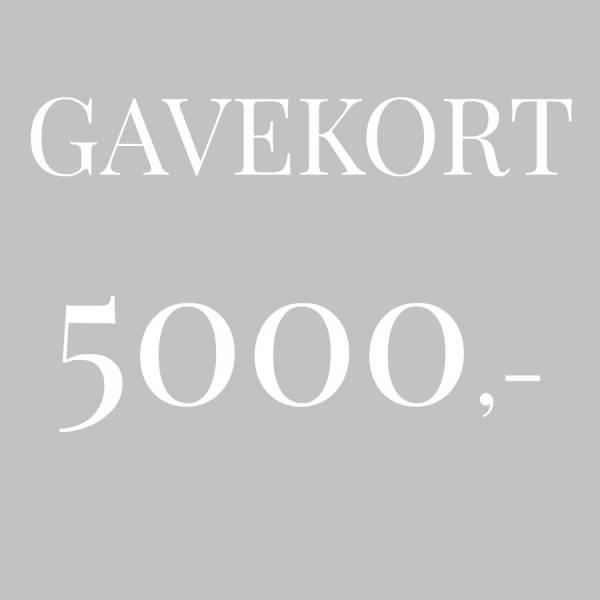 Bilde av Gavekort 5.000,-