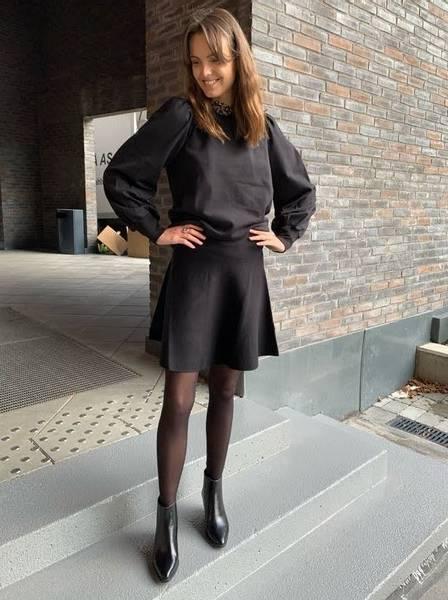 Bilde av Part Two Vikas Long Skirt