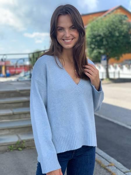 Bilde av Ganni K1527 Wool Mix Pullover
