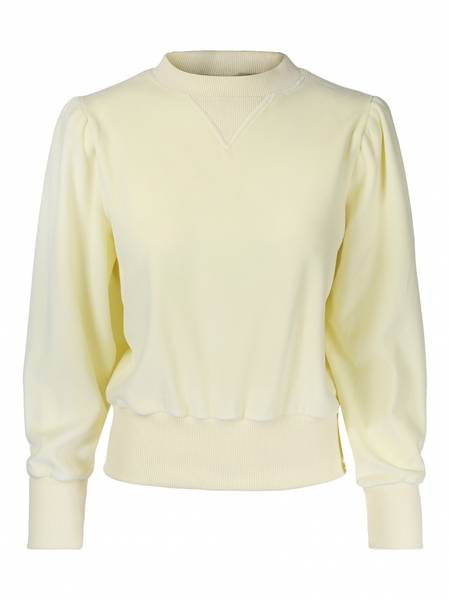 Bilde av ella&il Mango Sweater Yellow