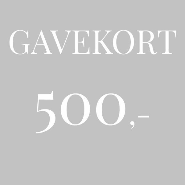 Bilde av Gavekort 500,-