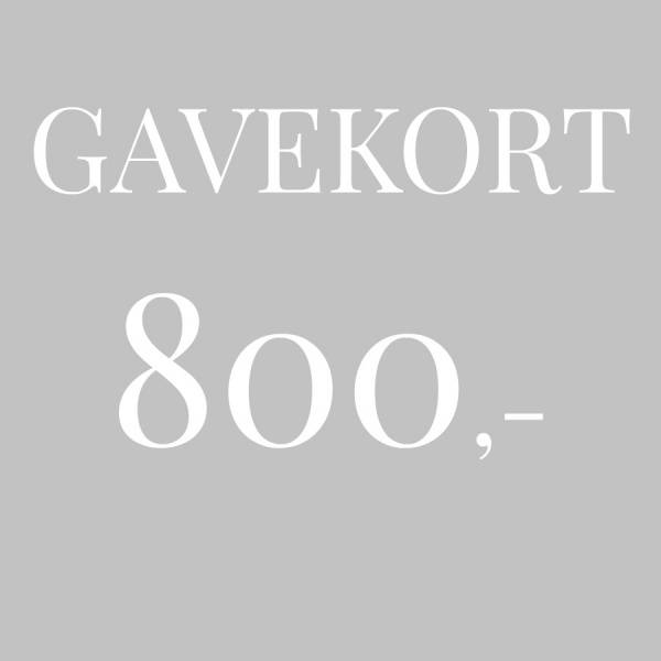 Bilde av Gavekort 800,-