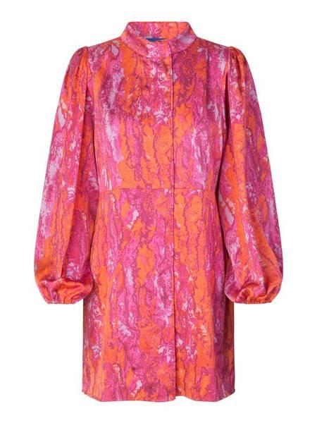 Bilde av Cras Lava Dress Pink Snake
