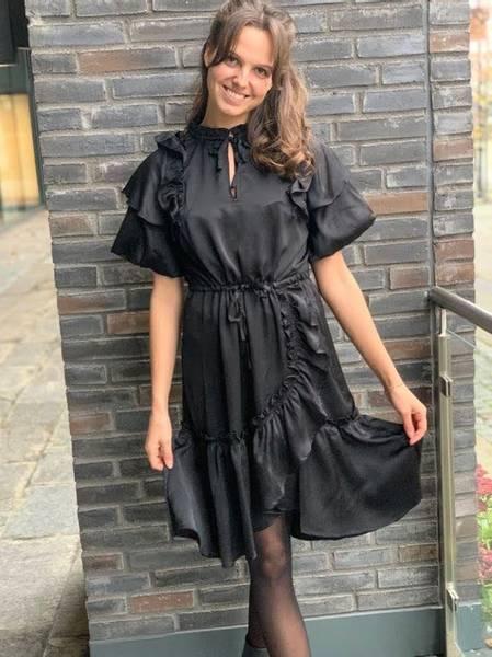 Bilde av Munthe Oranna Dress Black