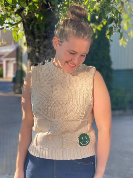 Bilde av Ganni K1578 Cotton rope knit