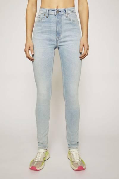 Bilde av Acne Peg Jeans Light Blue
