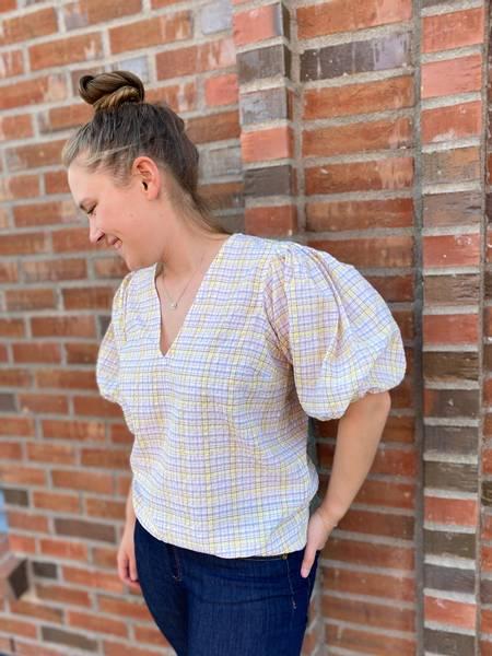 Bilde av Ganni F6072 Checkered