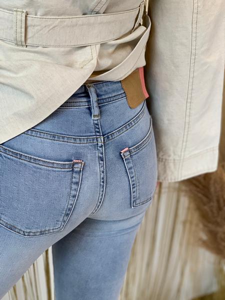 Bilde av Acne Climb Jeans Light Blue