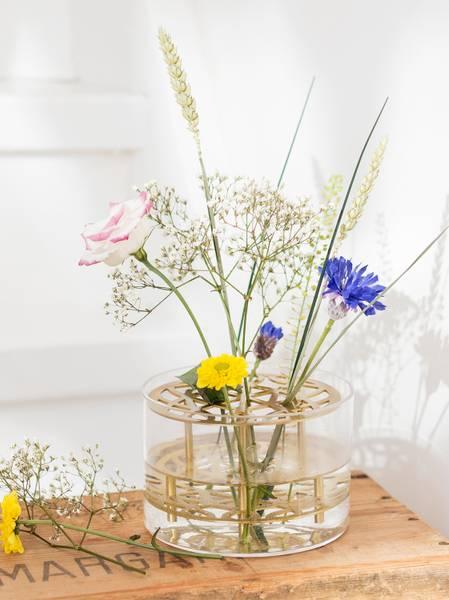 Bilde av Klong Äng Liten Vase Messing