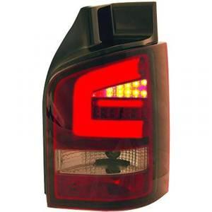 Bilde av T5 Baklykter Topph LED Rød-sotet