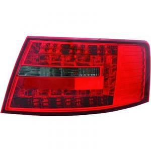 Bilde av AUDI A6 04-08 LED-Baklykter Rød-sotet