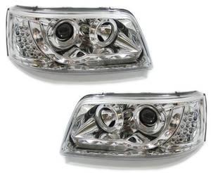 Bilde av VW TRANSPORTER T5 03-09 Frontlykter LED Chrome