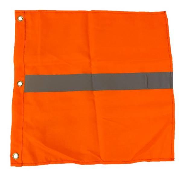 Bilde av Bøyeflagg oransje med refleks
