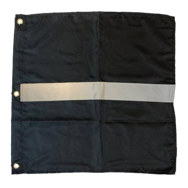 Bilde av Bøyeflagg svart med refleks