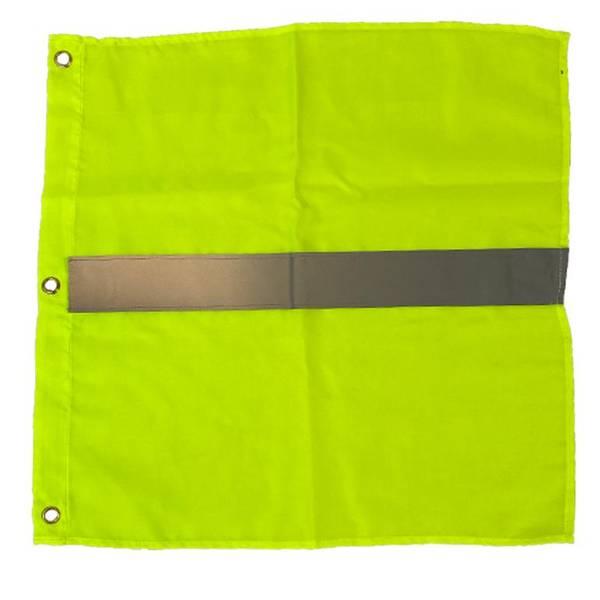 Bilde av Bøyeflagg gul med refleks