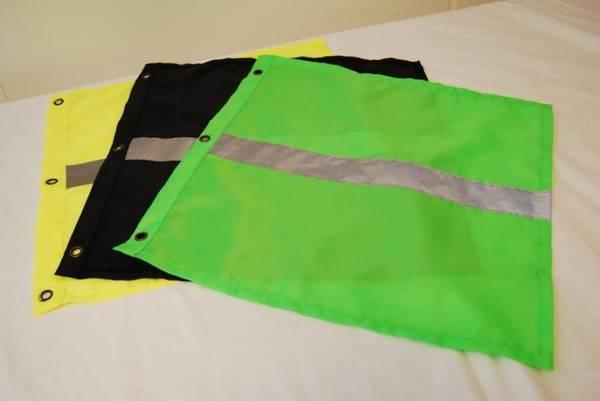 Bilde av Bøyeflagg grønn med refleks